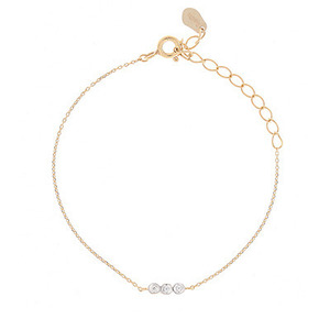DEWDROP CHAIN BR[ 14K or SILVER ]