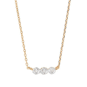 DEWDROP SHORT NK[ 14K or SILVER ]