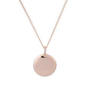 PLAIN COIN NECKLACE