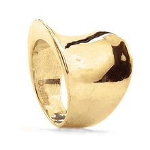 WAVY OBJECT R GOLD . SHINY[ SILVER ]