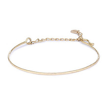 HAMMERED WIRE BRACELET
